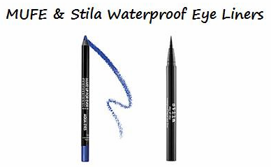 Use waterproof eye liner