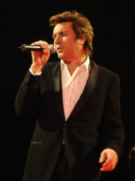 Duran Duran lead singer Simon LeBon, 2005