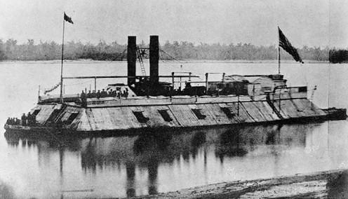Union ironclad USS Carondelet (1861).