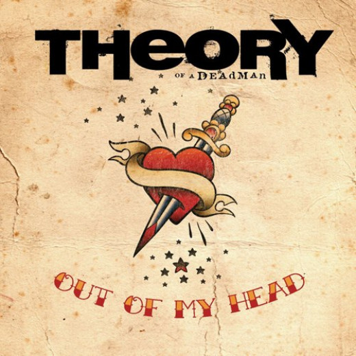 """""""Out of My Head"""" single cover."""
