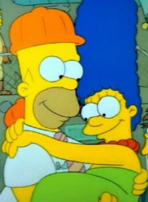 Marge now has a secret that will slowly eat away at their marriage.