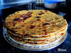 "Methi Thepla Recipe| How To make  Indian Fenugreek-Bottle Gourd Flat Bread| Most Popular Gujarati Dish ""Thepla"" Recipe"