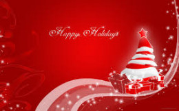 Red is one of the colors of the Christmas season.The Christmas season is a time of expressing love & other acts of goodwill. People are often more loving towards their fellow humans during this time of year than at other times of the year.
