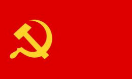 Red represents extreme political ideology. It's defiance, revolution, & rebellion against the old order & old systems.Flags of communist & socialist countries are red.To say someone was red means he/she is far left or Communist.