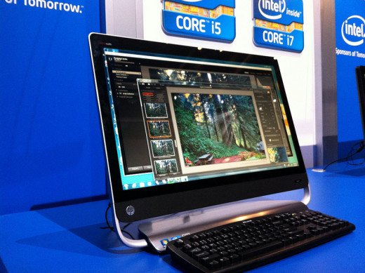 Sleek and beautiful, the all-in-one PC