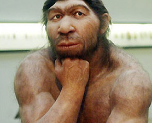 Neanderthal likeness. Humans could have evolved as a part of God's plan.