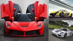 Top 4 Hybrid Supercars