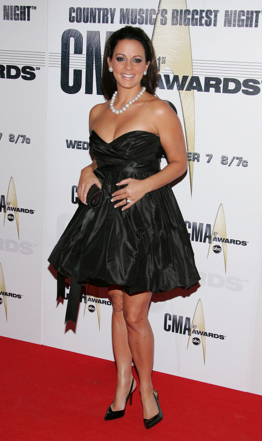 Sara Evans at the CMAs
