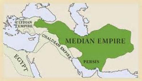 Median Empire in green