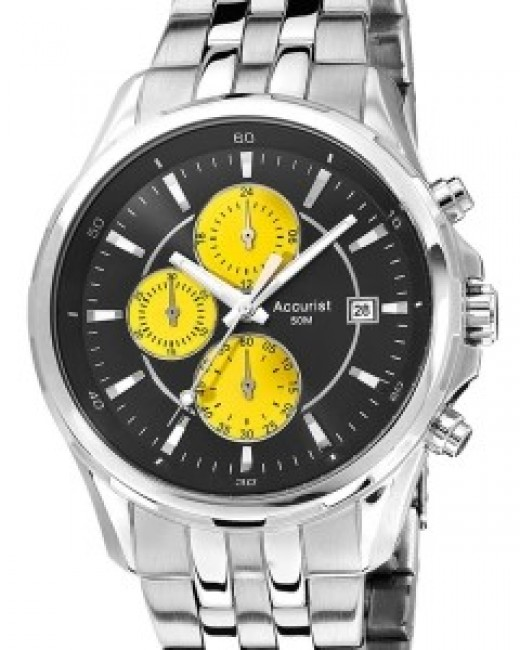 Accurist Fashion Mens Chronograph Watch