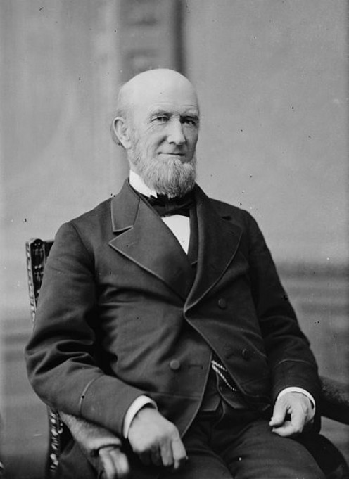 """Eads, Hon. James B. of MO. (Built the St.Louis Bridge)""  between 1865 and 1880 Library of Congress"