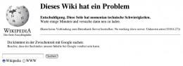 Server Error in German