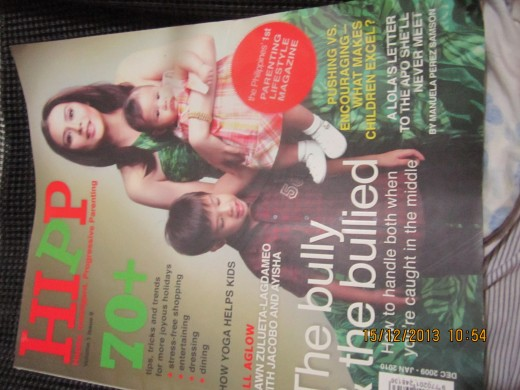 Cover of HIPP Magazine. The article was featured in the Dec.2009-Jan. 2010 issue, but the story remains relevant today.