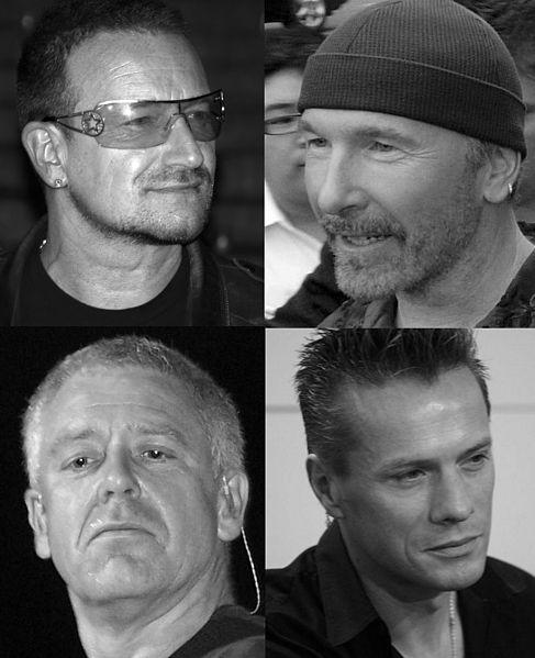 File: U2 montage (black and white).jpg CC-BY-SA-3.0