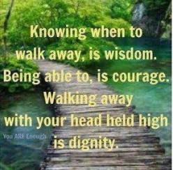 Walking Away: Can't Wait Any Longer