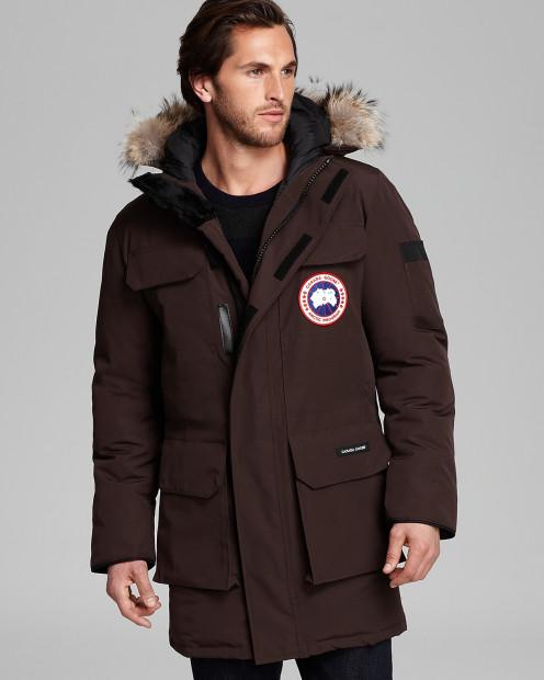 Canada Goose' Citadel Parka with Fur Hood - Black