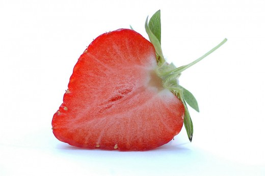 Strawberries are rich in AHAs which do wonders for the skin.