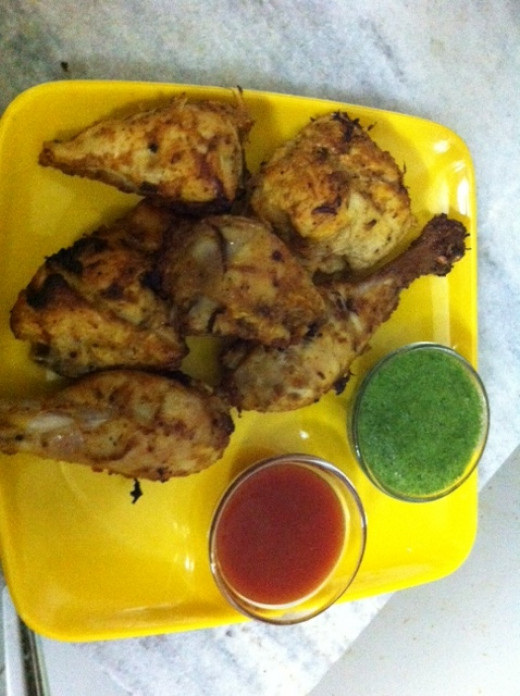 The Finished recipe of Grilled Chicken