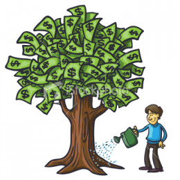 Taking care of your money will let your money grow little by little, safely.