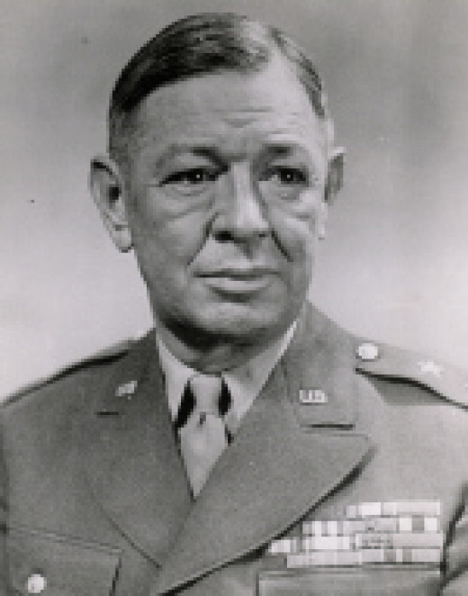 Major General Stafford LeRoy Irwin was a West Point graduate. Before assuming command of the Division, he had been an artillery commander.