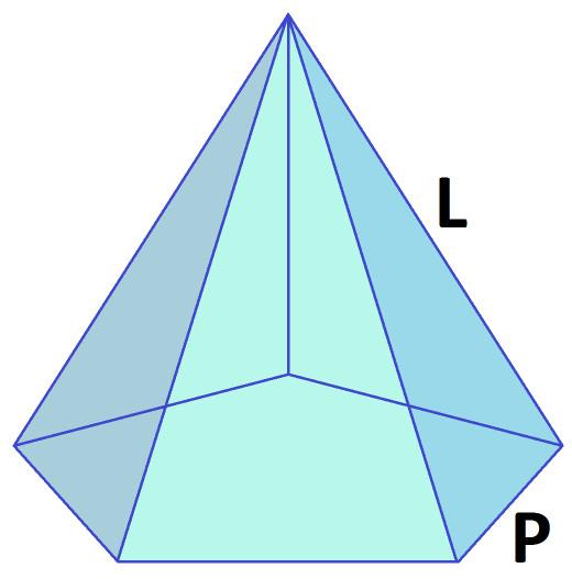 Regular Pentagonal Pyramid (source: author)