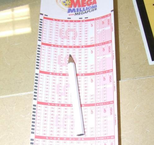 Mega Millions Loto Ticket