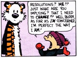 New Year's Resolutions With A Twist