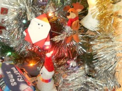 Fun With Paper Folding and Origami - How to Make Origami Santa Claus