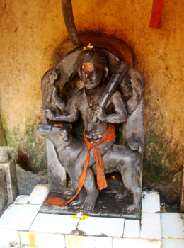 The idol of Bhairab Shiva