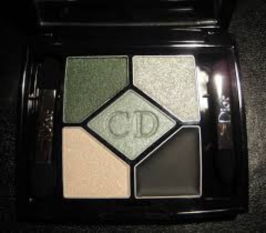 Dior 5-Coulour designer palette of eye shadows