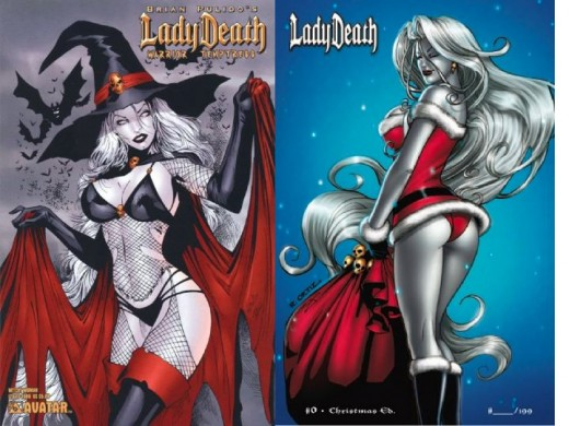 Lady Death Holiday Costumes