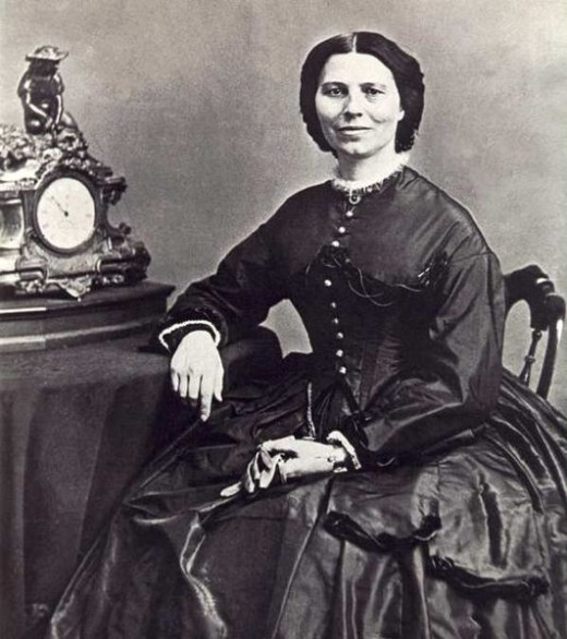 Clara Barton - a one-peson relief agency