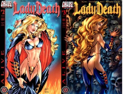 Lady Death Alive Costume