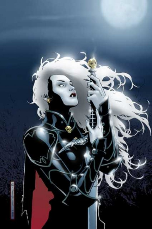 Lady Death Full Armor