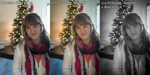 Lighting is an important part of every photograph. Use the contrast between warm and cool for dramatic effects.