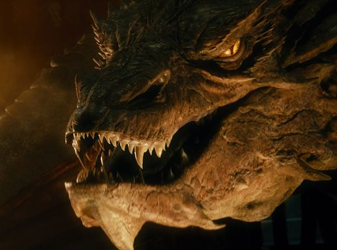 Smaug is easily the coolest dragon ever put on film.