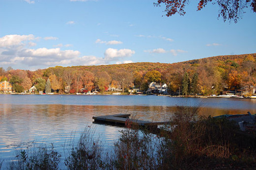 """""""Roger's Appalachia Cottage"""" was situated close to Greenwood Lake just over the New York State border."""