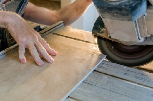 A tile saw is an amazing machine, but you might just be able to get by without one!