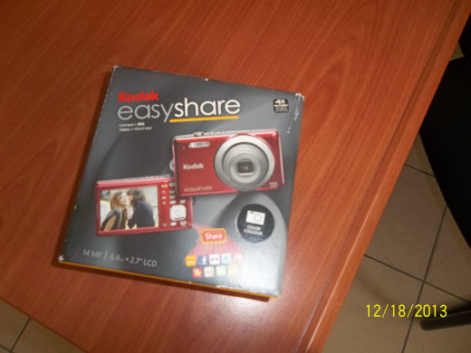 An Easyshare Camera For Caturing And Loading Your Photos