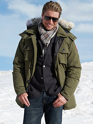 This is how the Banff Parka would look like unbuttoned