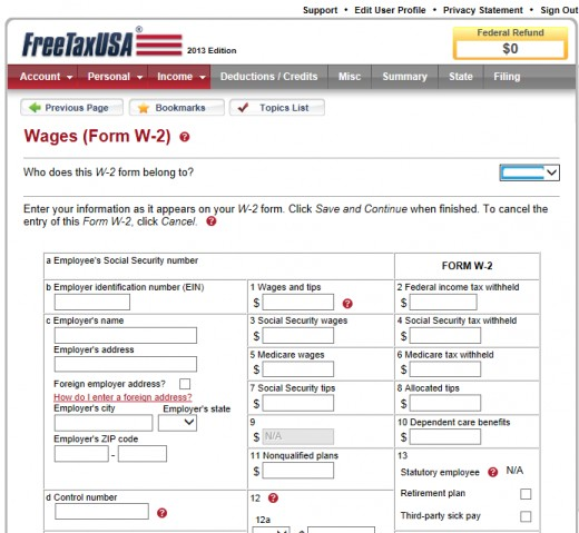 FreeTaxUSA - Things to Know Before You Start