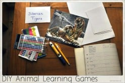 DIY Animal Learning Games for Kids