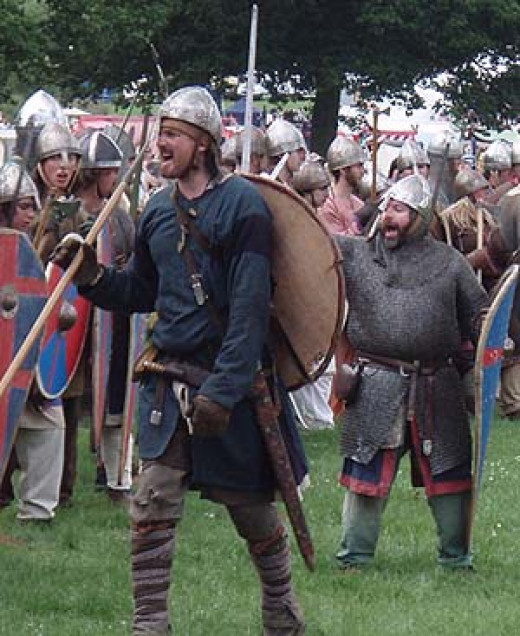 Northumbrian fyrdmen - after the Norman invasion these men would have been deployed by their new masters against the rebel earls and their followers