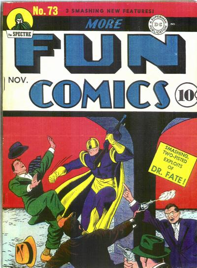 More Fun Comics #73 - First Appearance of Aquaman and Green Arrow