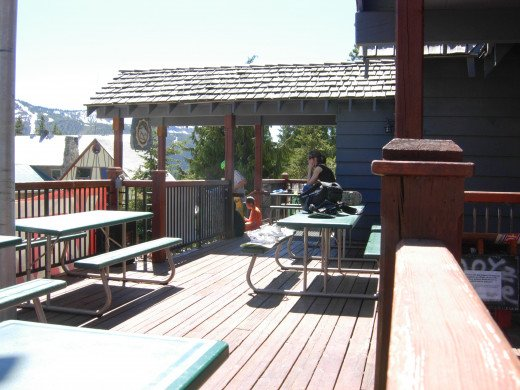 Front Deck of Main Lodge