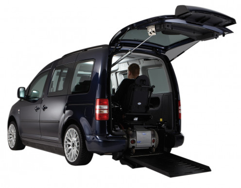 Drive-From-Wheelchair Vehicle
