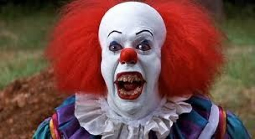 PennyWise the Clown was the villain in the film, It.