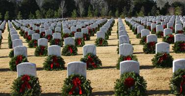 Alabama Wreaths Across America - Alabama National Cemetery