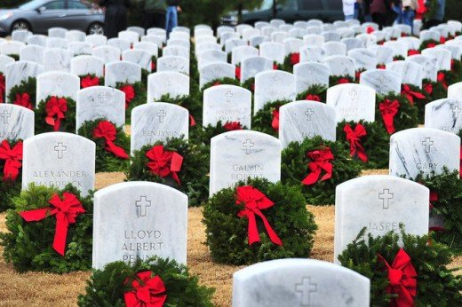 Wreaths Across America at the Alabama National Cemetery by Tamika Moore