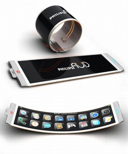 unique mobile phones   ten of the most unusual concept